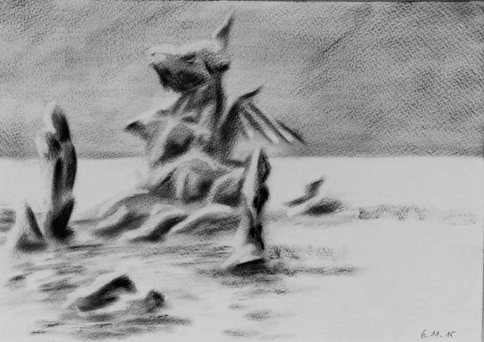 Drachenschwein_Öl